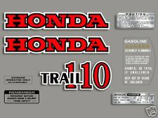 1980 Honda CT110 Trail - 8 pc. decal set