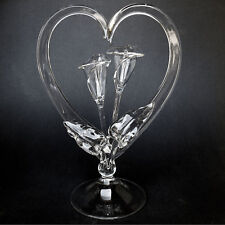 Calla Lily Lilies Blown Glass Wedding Cake Top Topper