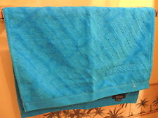 1 VERSACE TOWEL FACE / HANDS GREEK KEY SPORT ITALY AUTHENTIC NEW $100 SALE