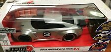 Jada - 99753 - 2009 Nissan GT-R (R35) HyperChargers RC Car Scale 1:16 - Silver