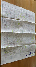 Stafford Vintage 1949 OS Map Sheet 119 War Office Edition