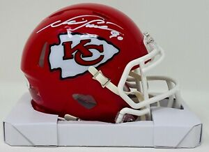 Kansas City Chiefs Neil Smith Autographed Speed Mini Helmet JSA Authenticated