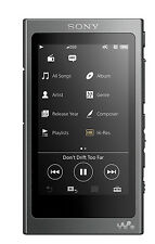 Sony NW-A35 Walkman® with High-Resolution Audio (Charcoal Black) (SMP5)