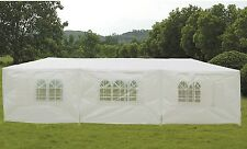 GAZEBO TENDA FESTE 3X9 IMPERMEABILE BIANCO TENDONE FIERE MERCATI CATERING MATRIM