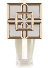 Bath & Body Works Gold Square Mirrored Shield Wallflowers Home Fragrance Plug
