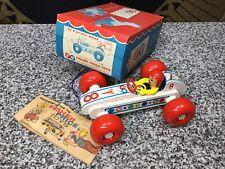Mib Unused 1960s Fisher Price Bouncy Racer #8 Toy Car