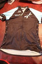 Voler Womens Medium Cycling Bicycle Jersey Shirt Colorful WeTri Racing Dragonfly
