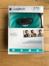 Logitech C270 HD Webcam for Widescreen Video Calling with Noise-Reducing Mic BN
