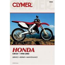 New Clymer Workshop Manual Honda CR125R Motorbike 1998-2002 Service Repair