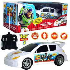 DISNEY TOY STORY 3 (BUZZ WOODY JESSIE) KIDS ELECTRIC RC RADIO REMOTE CONTROL CAR