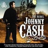 JOHNNY CASH The Rebel (2013) 75-track 3xCD box set NEW/SEALED