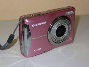 Olympus Fe FE-46/X-42 12.0MP - Digital Camera - Pink