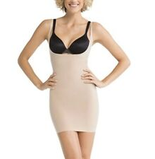 NWT Spanx Shape My Day Open Bust Full Slip Medium Control Size M Color Natural