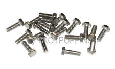 20-SS #10-24 x 5/8 HH HEX HEAD MACHINE SCREWS BOLTS STAINLESS STEEL 18-8 PARTS