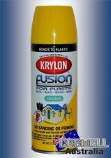 Krylon Fusion Plastic Paint 340gm - Sunbeam Safety Yellow Gloss - AUS Seller