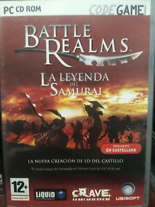 BATTLE REALMS. JUEGO PARA PC. PAL-ESP. USADO, BUEN ESTADO.