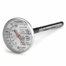 CDN Instant-Read Cooking Thermometer Ovenproof for Meat & Grilling Oven Proof
