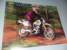 1997 Suzuki Duelsport - Dirt Sales Brochure - In Very Nice Shape !!!