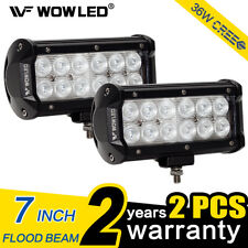 WOW - Upgrade 2X 36W LED Offroad Driving Work Lamp Bar Flood Lamp for Truck Car