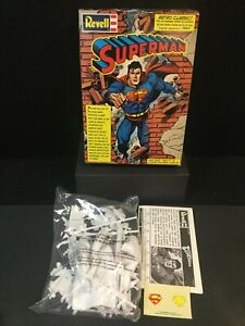 SUPERMAN Revell Retro Classic 1/8th Scale Model Kit (New, But Opened) DC