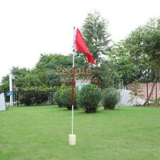 Golf  Flag Stick Hole Pole Putting Cup Green Flagstick Backyard  Garden Practice
