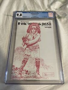 THE WALKING DEAD #171 PRINCESS COVER SKYBOUND MEGABOX EDITION GRADED CGC 9.8