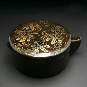 Japanese Resin Ink Box Brush Rest With Lid Calligraphy Painting Sumi-e Tool