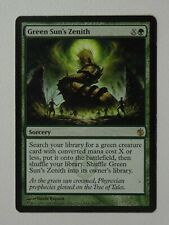 [1x] Green Sun's Zenith - Mirrodin Besieged MTG Single Moderate Play Condition