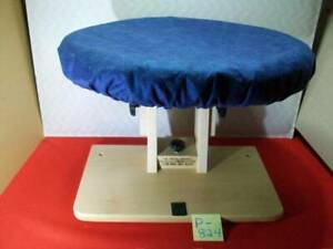 """BRAND NEW RUG HOOKING 15"""" ROTATING & ADJUSTABLE ANGLE LAP FRAME & HOLLY'S BONNET"""