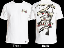 SOA Sons Of Anarchy Men Of Mayhem Grim Reaper Scythe T-Shirt Small Medium