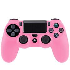 Sony Playstation 4 contrôleur ps4 Housse étui silicone souple mat Housse de Protection Rose