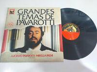"""Pavarotti Große Themen de Mirella Freni 1989 Spain Ed LP vinyl 12 """" VG/VG - 3T"""