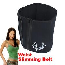 Stomach Fat Burner Waist Trimmer Hot Sweat Sauna Tummy Waist 4 Steps  Wrap Belt