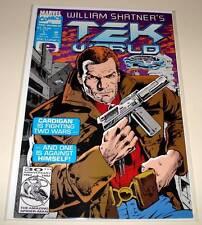 William Shatner's TEK WORLD # 1  Marvel Comic   Sept 1992  VFN/NM