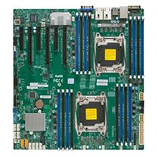 Supermicro X10dri Server Motherboard - Intel C612 Chipset - Socket R3