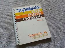 D. Gottlieb & Co, 1978 Parts Catalog Volume P