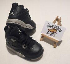Nike Air Jordan 4 Retro Oreo entrenadores Bebé UK 4.5 Niño Infante Unisex 707432