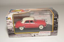 . NOSTALGIE SIMCA ARONDE 1954 RED WITH CREAM MINT BOXED