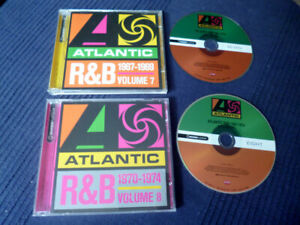 2CD Atlantic R&B Vol 8&9 Aretha Franklin Otis Redding Roberta Flack The Spinners