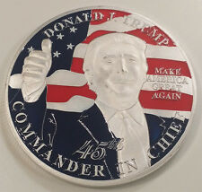 Donald J. Trump 45th Commander in Chief of the US Challenge Coin (non NYPD)