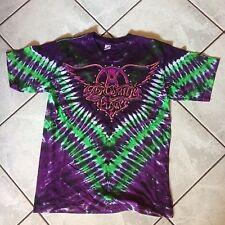 AEROSMITH concert t-shirt size L PUMP tour official merchandise Perfect Unworn