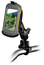 RAM Motorcycle Handlebar Rail Mount for Garmin Montana GPS 600 650 650T