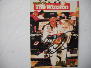 Dale Earnhardt Sr signed 1994 MAXX #3 CHARLOTTE THE WINSTON VICTORY WC Card #277