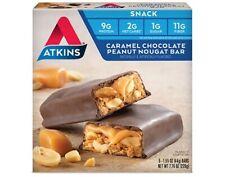 Atkins Snack Bar Caramel Chocolate Peanut Nougat