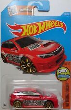 2016 Hot Wheels HW DIGITAL CIRCUIT 10/10 Subaru WRX STI 30/250 (Red)(Int. Card)