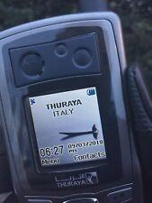 SATELLITE PHONE THURAYA SO-2510 GPS LAST FIRMWARE sov6.8 SIM CARD-READY TO GO!!
