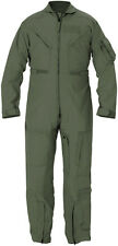 Flyer's Nomex Coverall Sage Green Cwu 27P Fr Flight suit Genuine Issue