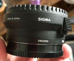 Sigma MC-11 EF to E-Mount Lens Adapter