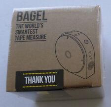 NEW Bagel World's Smartest Tape Measure Smart Labs Measurer Level Accessory Case