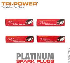 PLATINUM SPARK PLUGS - for Holden Calibra 2.0L YE95 (X20XEV) TRI-POWER